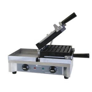 180 degree waffle making machine open plates