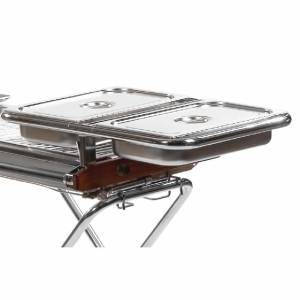 barbecue heavy duty pans holder