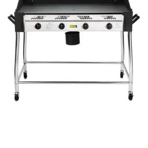 gas propane barbecue griddle, ideal for outside catering