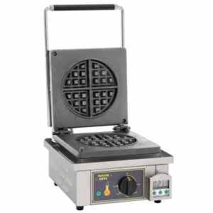 single round waffle machine catering equipment