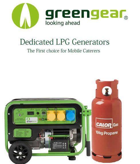 lpg mobile catering generators
