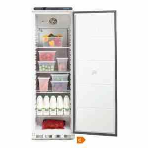 polar-single-door-fridge-cd612-open door