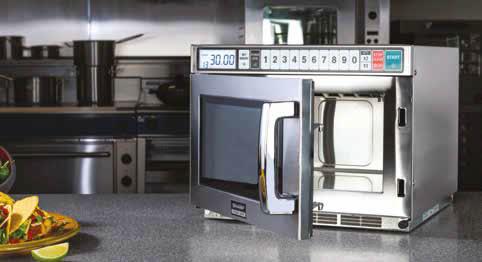 commercial microwave 1800 watt r7500m inverter technology