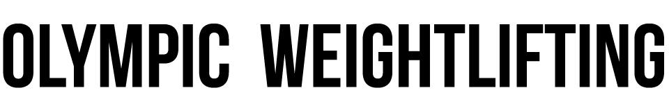 olympicweightlifting