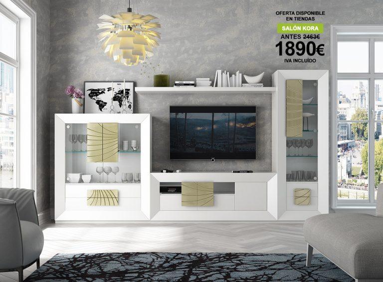 Oferta Franco Furniture: Salón Kora