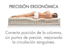 ergonomía en colchones sonpura