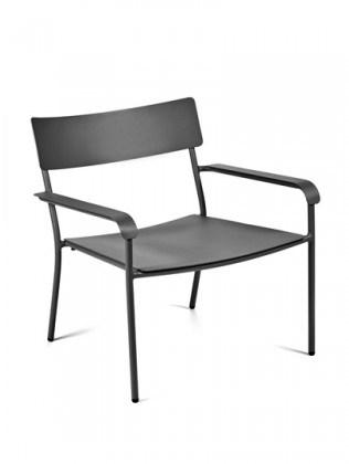 lenestoler August Lounge Chair - Svart fra Serax