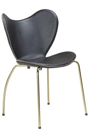 stoler Butterfly stol - Svart/gull fra Dan Form Denmark