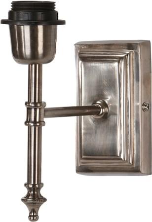 belysning Classic Vegglampe Antikk sølv 20 cm fra PR Home