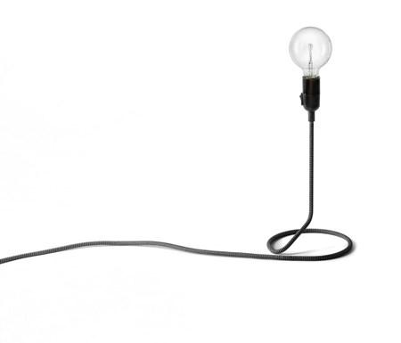 belysning Cordlamp Mini Svart/Hvit fra Design House Stockholm