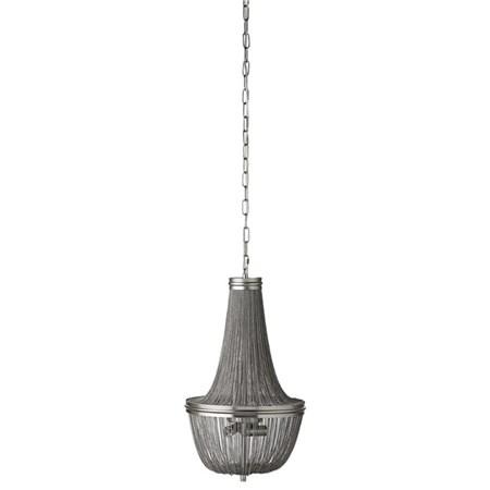 belysning Lilia Krystallkrone Ant. Sølv Ø36 cm. fra Lene Bjerre