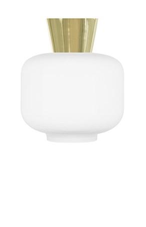 belysning Plafond Ritz Hvit / Messing fra Globen Lighting