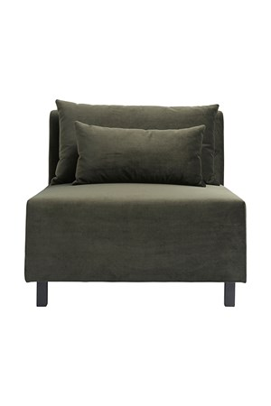 sofaer Sofa Green Middle fra House Doctor