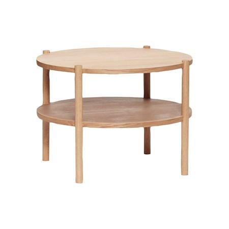 sofabord Sofabord Ø60xh44 cm - Natur fra Hübsch