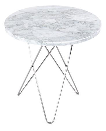 marmor-bord Tall mini O-table - Marmor fra OX DENMARQ