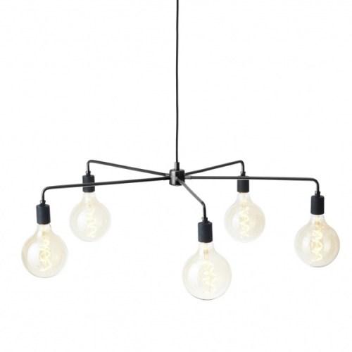 Chambers Chandelier Black 76 cm Menu belysning belysning fra Menu