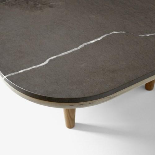 Fly Table SC4 Grå marmor-bord marmor-bord fra &tradition