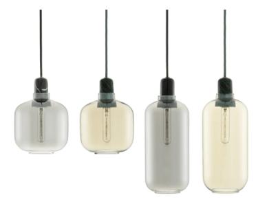 Glasskuppel til AMP Lamp fra Normann Copenhagen -
