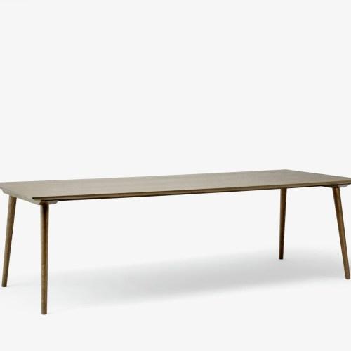 In Between Spisebord SK6 100x250 Røkt Eik fra &tradition - 5705385006832