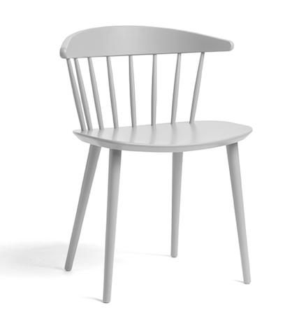 J104 Chair HAY Dusty Grey kjøkkenstol kjøkkenstol fra Hay