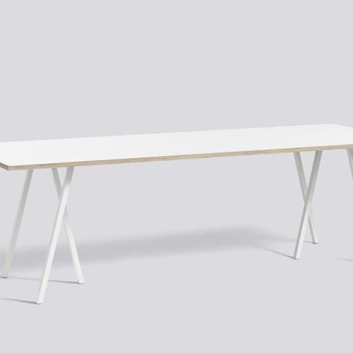 Loop Stand Table hvit fra Hay -