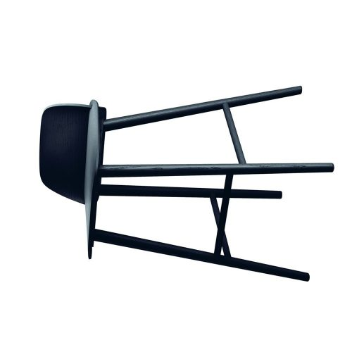Nerd Bar Stool H:65 Black fra Muuto - 5710562214528