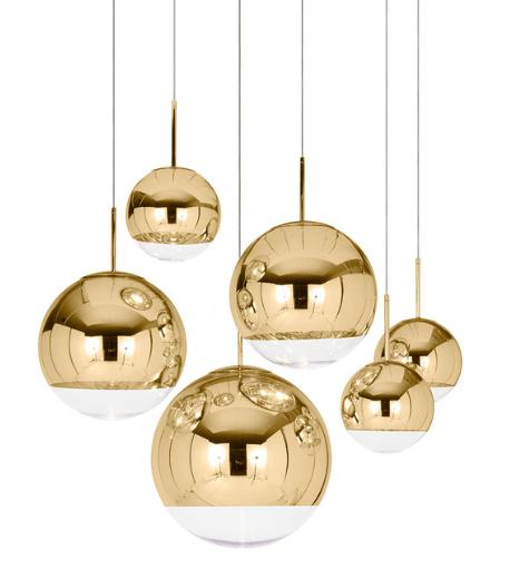 Tom Dixon Mirror Ball Gold belysning belysning fra Tom Dixon