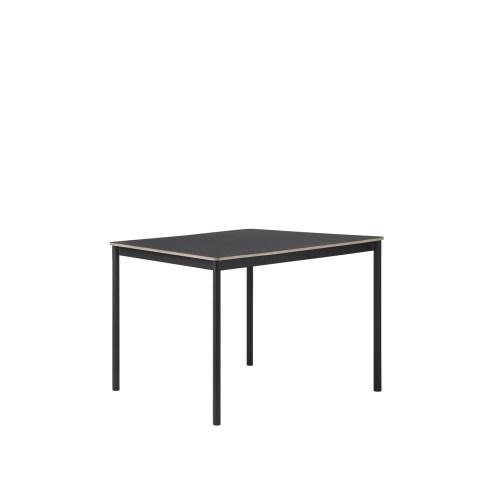 Base Spisebord Svart Linoleum/Fineer/Svart - Muuto