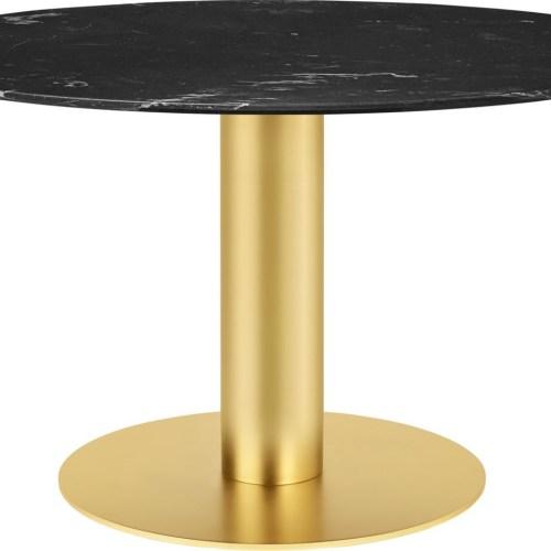 Dining Table 2.0 130 cm m/Svart base - Gubi