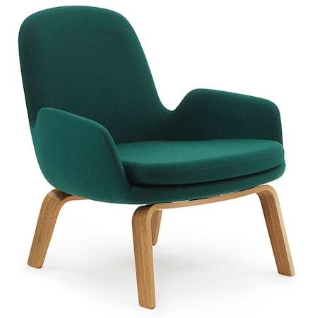 Era Lounge Chair Low Oak fra Normann Copenhagen
