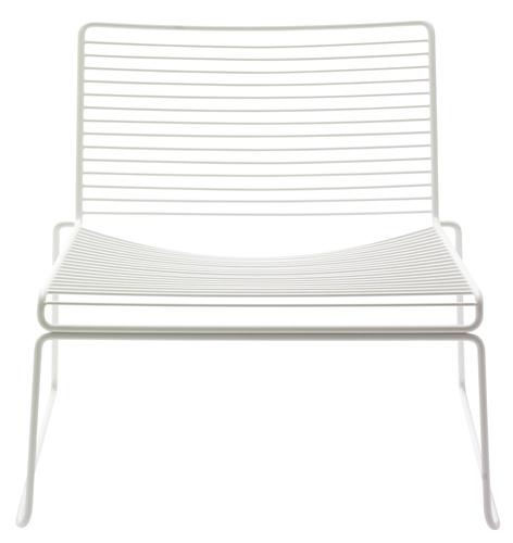 Hee Lounge Stol Hvit - Hay