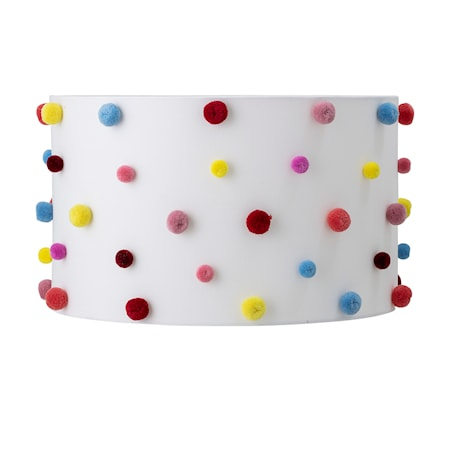Lampeskjerm Multi-color Polyester fra Bloomingville