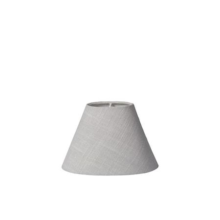 Lampeskjerm Plain Linen Lysegrå fra Lene Bjerre