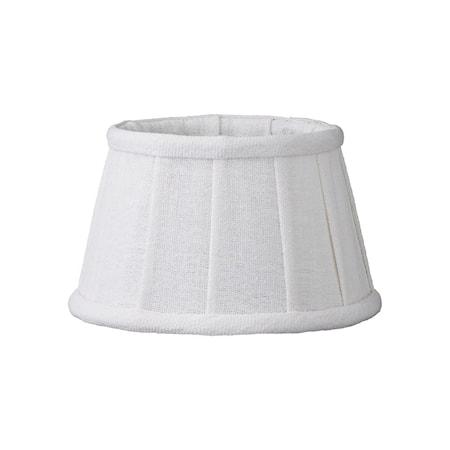 Lampeskjerm Soft Linen Ø15cm Hvit fra Lene Bjerre