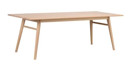 Nevis Spisebord Hvitpigmentert Eik 220 cm fra Rowico