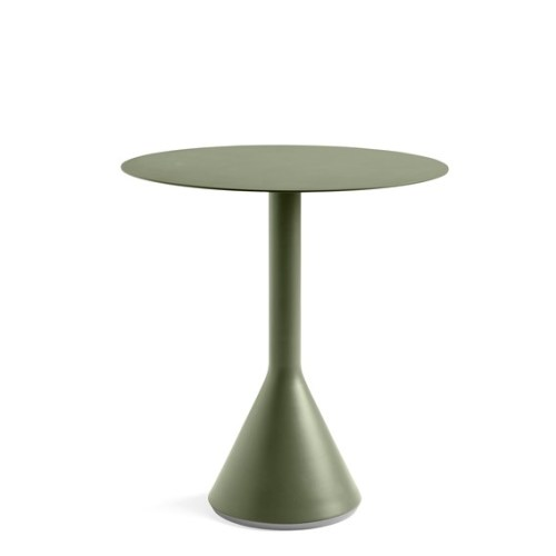 Palissade Cone Table Olive Ø:70 - Hay