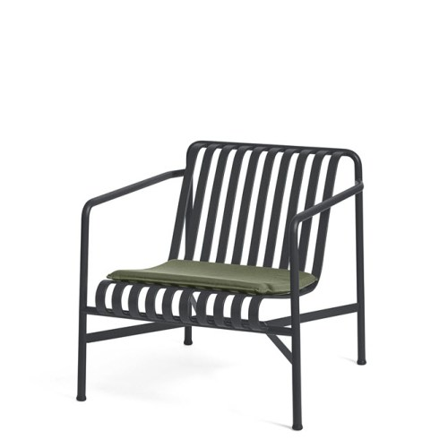 Palissade Lounge Chair Low Antrasite - Hay