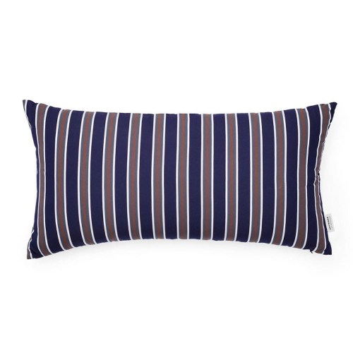 Pute Eclat Midnight Blue Multi 33x60 - Normann Copenhagen