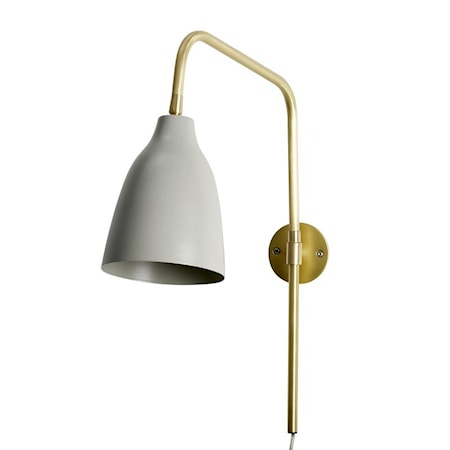 Vegglampe Evie Beige fra Lene Bjerre