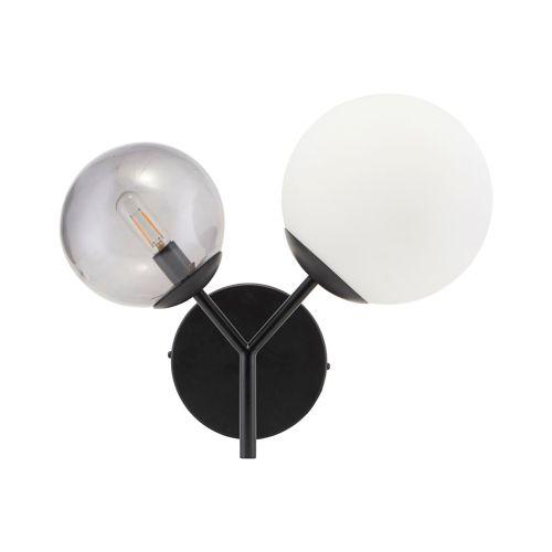 Vegglampe Twice Black - House Doctor