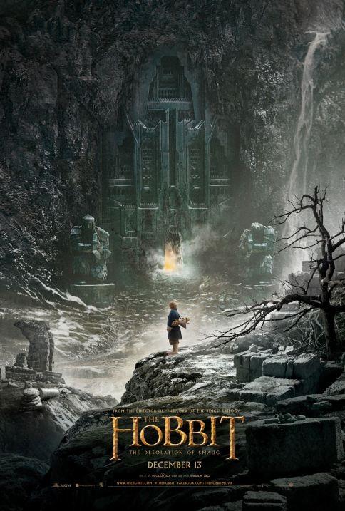Primeiro cartaz divulgado de O Hobbit: A Desolação de Smaug