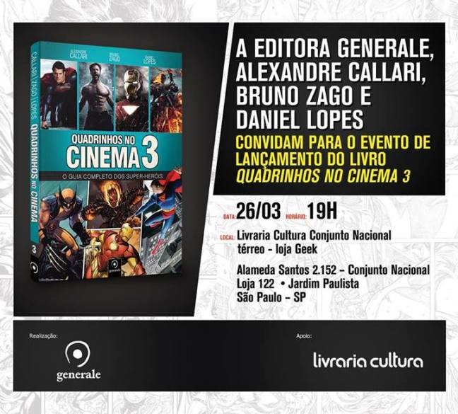 Quadrinhos no Cinema 3