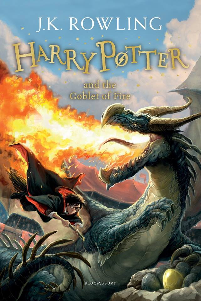 Capa: Harry Potter e o Cálice de Fogo (Harry Potter and the Goblet of Fire)