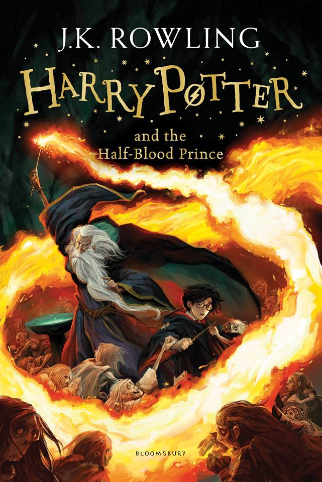 Capa: Harry Potter e o Enigma do Príncipe (Harry Potter and the Half-Blood Prince)