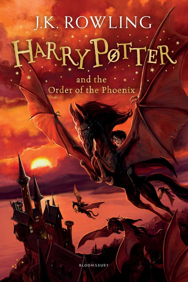 Capa: Harry Potter e a Ordem da Fênix (Harry Potter and the Order of the Phoenix)