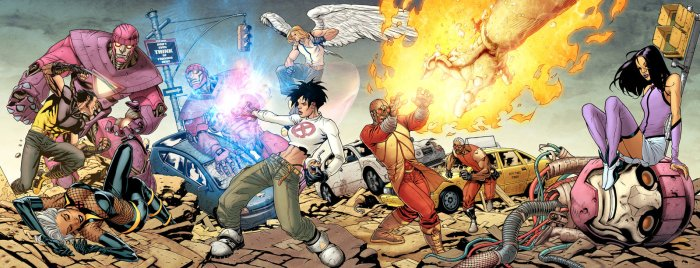 Ultimate X-Men (cover 85 to 88) Via: http://bit.ly/1zv1Ywg