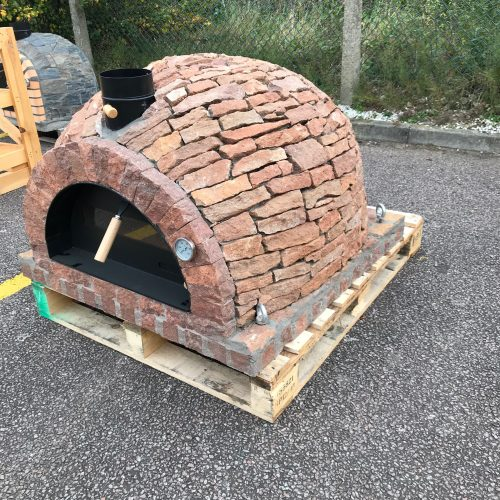 Traditional oven - Black Rustic Stone Model