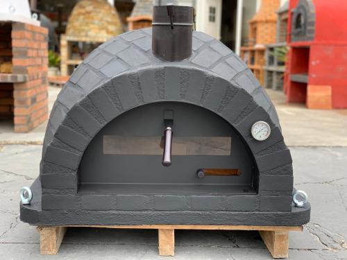 RUSTIC BRICKS BLACK LABEL design Traditional oven Ver2