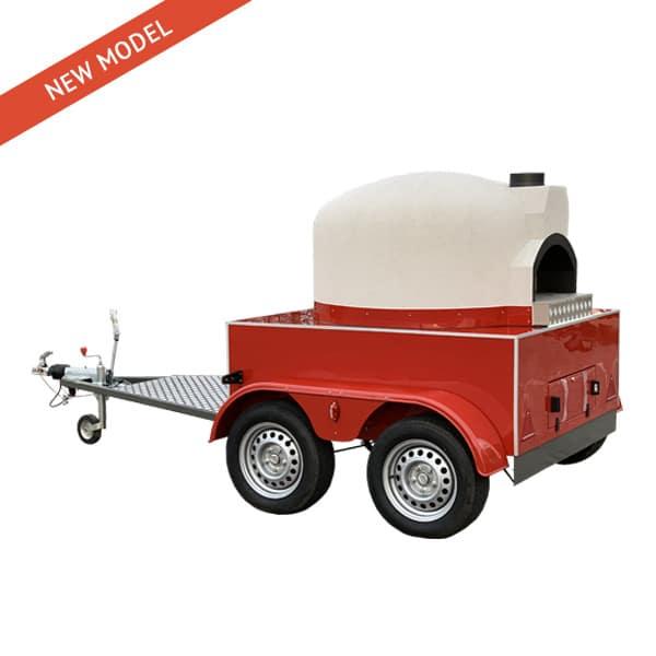 Mobile Pizza Oven - Rear Version