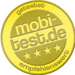 mobi-test.de Gütesiegel klein